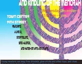 #4 for Graphic Design for TicketPrinting.com HANUKKAH POSTER & EVENT TICKET af akhiladecosta