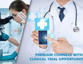 nº 8 pour Design a banner for clinical research web app par savitamane212