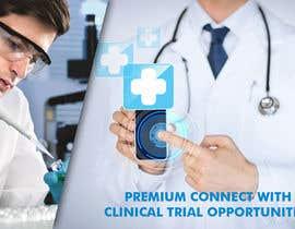 nº 9 pour Design a banner for clinical research web app par savitamane212