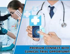 nº 12 pour Design a banner for clinical research web app par savitamane212