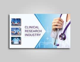 nº 13 pour Design a banner for clinical research web app par mhtushar322
