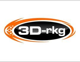#169 for Logo Design for 3d-rkg by arteq04