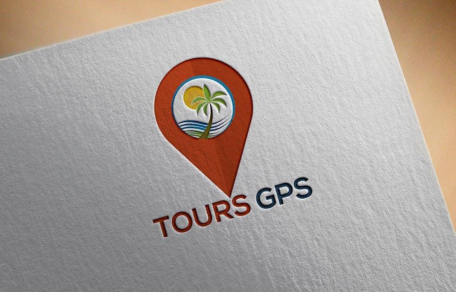 Kilpailutyö #                                        121                                      kilpailussa                                         To design a logo for Tours GPS