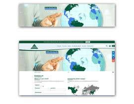 Nro 8 kilpailuun World map for website käyttäjältä Zdenno
