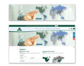 Nro 10 kilpailuun World map for website käyttäjältä Zdenno