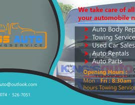 #28 for King's Auto Facebook Ad Banner by ibrahimbd2042