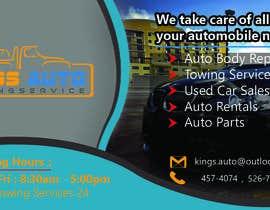 nº 30 pour King's Auto Facebook Ad Banner par ibrahimbd2042