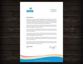 #28 for Create a letterhead with our company logo by flechero