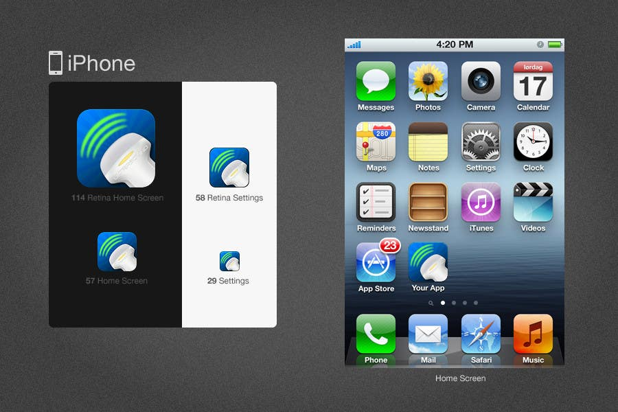 #72 for Icon or Button Design for iSonographer Iphone App by twocats