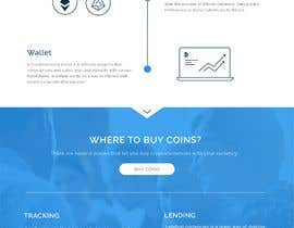 nº 15 pour Design Website with infographics for crypto currencies par rohan0571