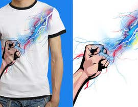 Nro 15 kilpailuun Design a T-Shirt_command lightning käyttäjältä anieshiaka