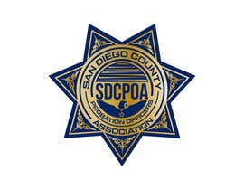 #57 for Design a Logo for the SDCPOA the San Diego County Probation Officers Association by squadesigns