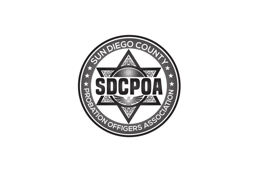 Proposition n°74 du concours Design a Logo for the SDCPOA the San Diego County Probation Officers Association