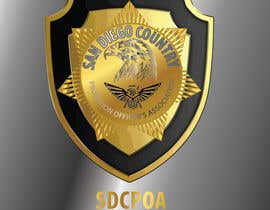 nº 88 pour Design a Logo for the SDCPOA the San Diego County Probation Officers Association par eng35