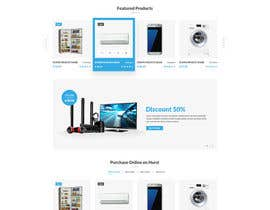 nº 41 pour Re-design teh layout to our website homepage par Mohammadalsouqi