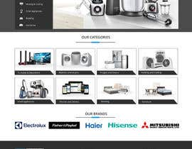 #28 for Re-design teh layout to our website homepage by dotfusiontech