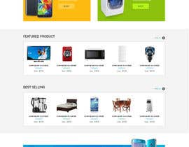 #46 for Re-design teh layout to our website homepage by saidesigner87