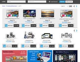 nº 53 pour Re-design teh layout to our website homepage par kumardilip81