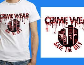 #75 for Design a T-Shirt_Crime_Wear (save the city)v1 by anieshiaka