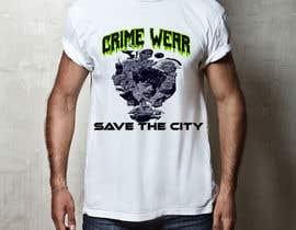 nº 104 pour Design a T-Shirt_Crime_Wear (save the city)v1 par adnanhabib9810