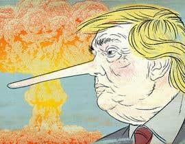 nº 2 pour Trump with long nose image par kolindozadrima