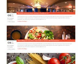 nº 1 pour Website Design Pizza Shop par KothariNeha