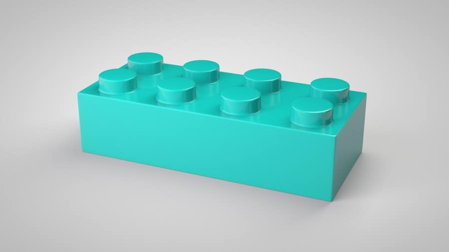 Proposition n°22 du concours 3D Rendering of a LEGO