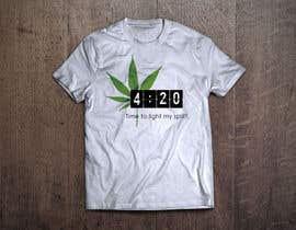 nº 46 pour Design a 420 T-Shirt. par kife9999