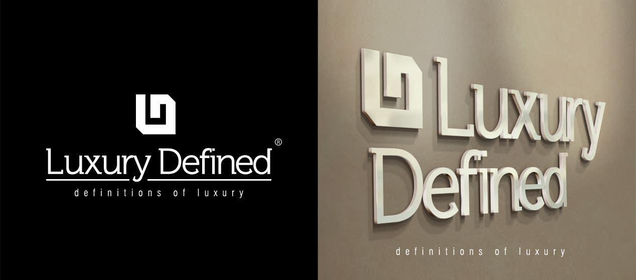 #85 for Logo Design for Luxury Defined by osmanoktay06sl