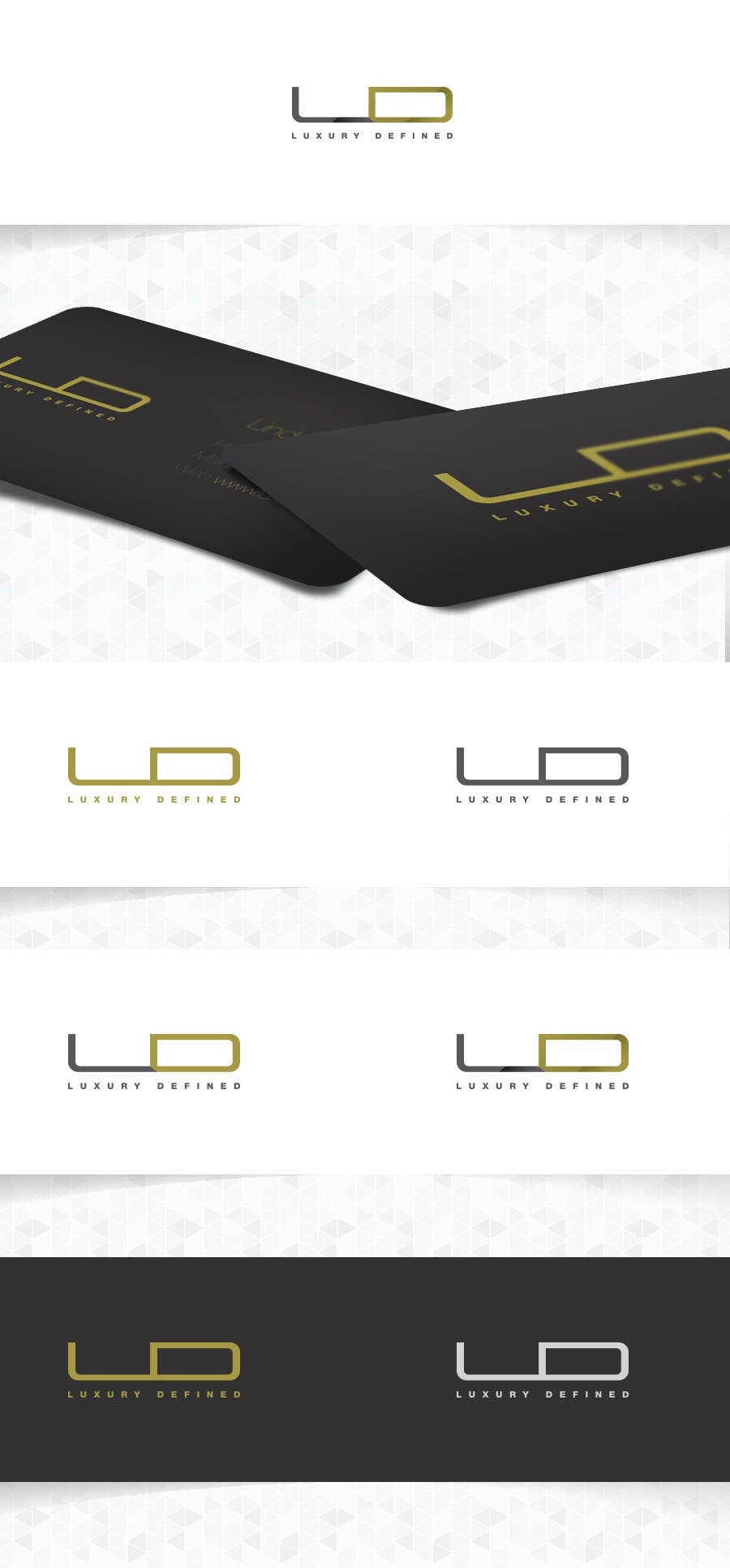 #228 for Logo Design for Luxury Defined by csoxa