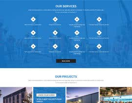 #15 for Design a Website Mockup for Communications Industry by husainmill