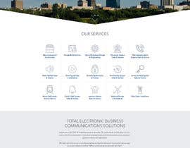 #7 for Design a Website Mockup for Communications Industry by nsrn7