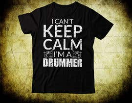 Nro 64 kilpailuun Design a Drummer T-shirt käyttäjältä subratabd77