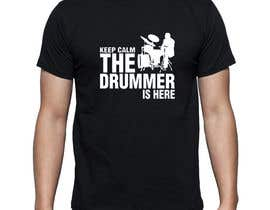 #81 for Design a Drummer T-shirt by Minal55