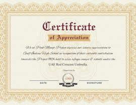 nº 1 pour Design a A3 Certificate par dksharma141