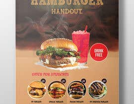 #43 for I need Hamburger Flayer by joymarma11