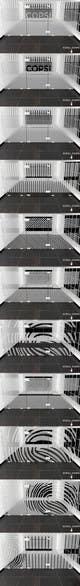 Graphic Design des proposition du concours n°13 pour two glass partition shading design for office