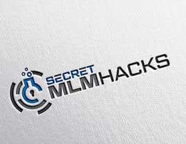 Nro 326 kilpailuun Secret MLM Hacks logo käyttäjältä eddesignswork