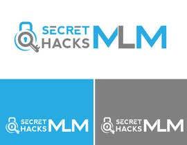 Nro 332 kilpailuun Secret MLM Hacks logo käyttäjältä RupokMajumder