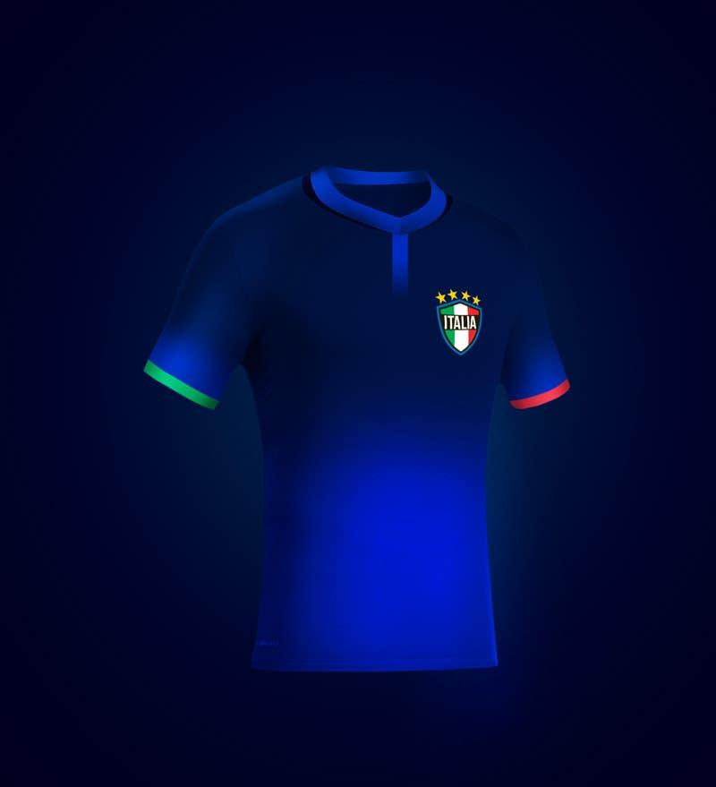Kilpailutyö #                                        34                                      kilpailussa                                         Italy Jersey Shirt - Soccer Theme