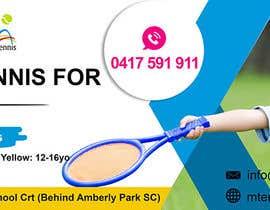 nº 51 pour Design a Tennis Banner par satishandsurabhi