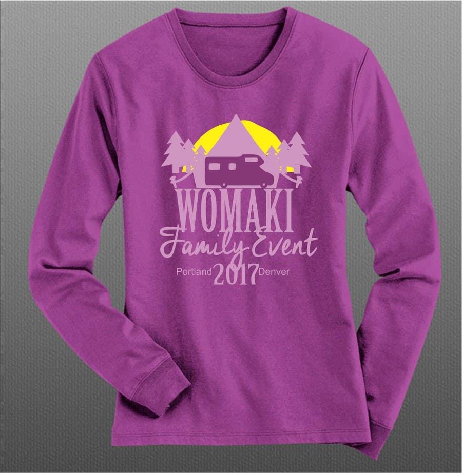 Proposition n°38 du concours WoMaKi T-shirt logo