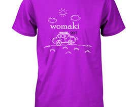 #32 for WoMaKi T-shirt logo by sameulkarims