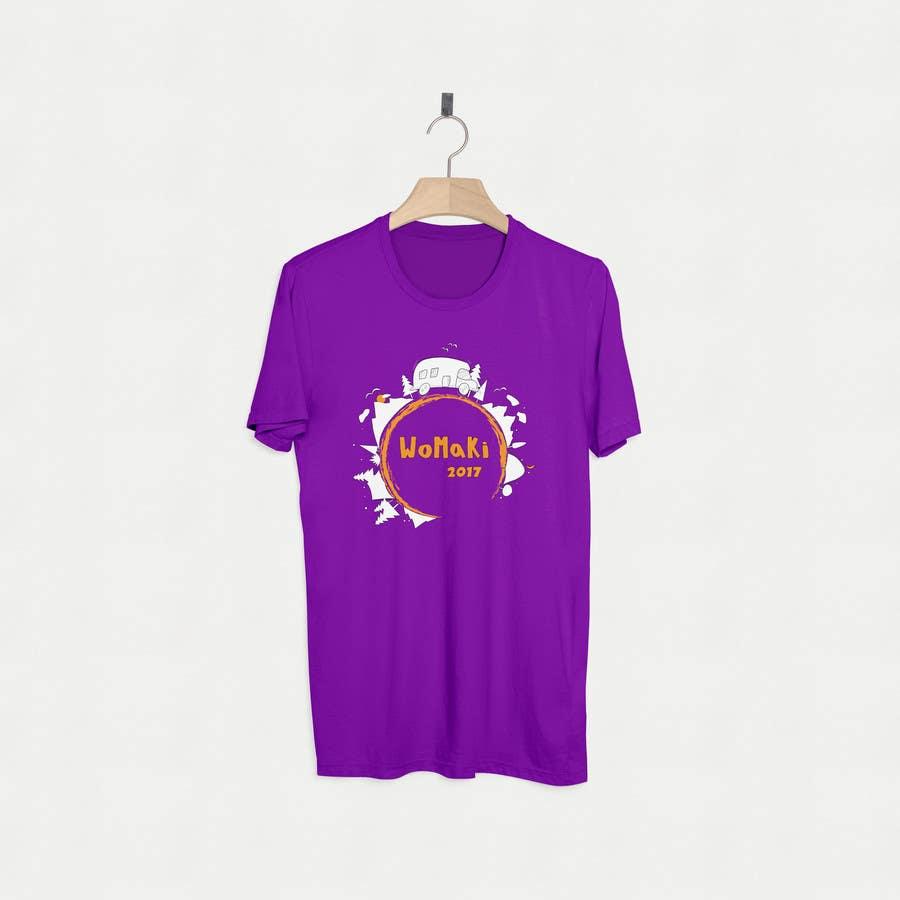 Proposition n°27 du concours WoMaKi T-shirt logo