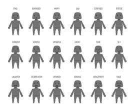 nº 4 pour Facial expressions for a character par wpurple