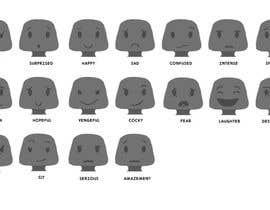 nº 5 pour Facial expressions for a character par NantuSorina