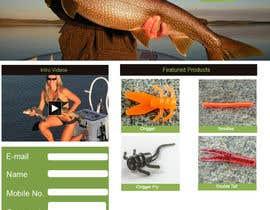 #9 untuk Design a Website Mockup for ecommerce fishing store oleh stylishwork