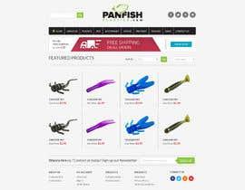 #20 untuk Design a Website Mockup for ecommerce fishing store oleh alpyraj81