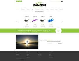 #12 untuk Design a Website Mockup for ecommerce fishing store oleh krasotina