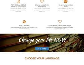 nº 14 pour Landing Page For a Free Book par PuzzleVe